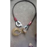 Estrobo Cable De Acero 1-1/4 X 10, 6x36, Con Gancho