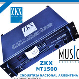 Potencia Nacional Zkx Mt1500 - Bm Music Boulogne