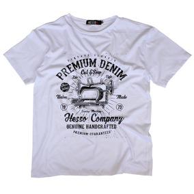 Camiseta Camisa Premium Denim Estampada Barata Qualidade c40edb7a4af01