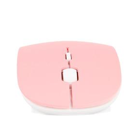 Mouse Inalambrico Ultra Delgado (rosa)