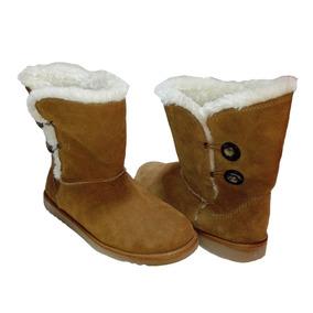 Botas Nieve Hombre 45 Botin Peluche Zapato Navidad Regalo Lo