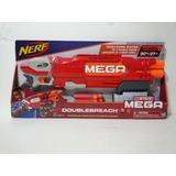 Nerf N-strike Mega Doublebreach Pistola Dardos X6 Boomco Msi