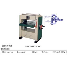 Cepillo Carpintero Banco Industrial 400mm