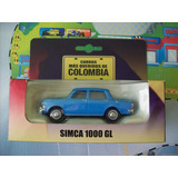 Simca 1000 Escala 1:43