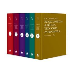 Enciclopédia De Bíblia Russel Norman Champlin 6 Volumes