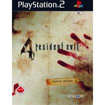 Patch Resident Evil 4 Com Códigos Para Ps2 É Um Patche