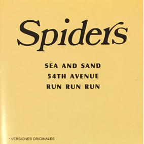 Cd The Spiders Run Run Sea And Sand Mar Y Arena Nuevo