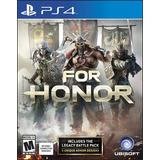 For Honor - Playstation 4 Ps4 Fisico Envio Gratis