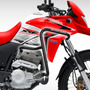 Defensa Lateral + Central Honda Xre 300 Rally Dirt Race Fas