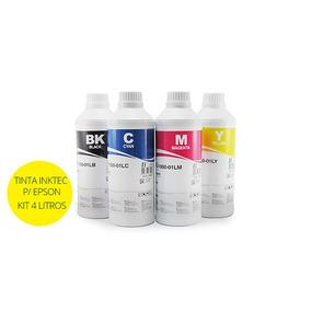 Tinta Inktec Corante Para Impressoras Epson - 4 Litros