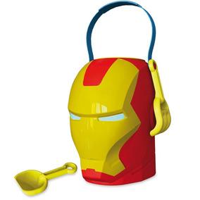 Balde De Praia Homem De Ferro Avengers Disney