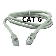 Cable De Red Utp 1 Metro Armado Categoria 6 Ethernet Rj45