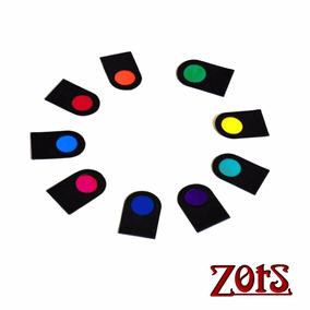 Jogo De Filtros Cromoterapia Bastão Colorpuntura Cores Luz