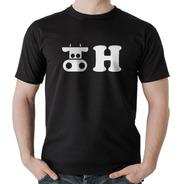 Camisetas Engraçadas Vaca H