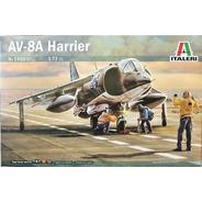 Avião Av-8 Harrier Kit Italeri 1/72 Tipo Revell - Petrohobby