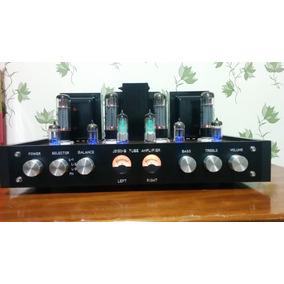 Amplificador Valvulado 60 Watts Stereo Hifi - Leia