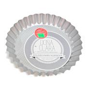 Molde Mini Tarta 18cm Fija Doña Clara Acero