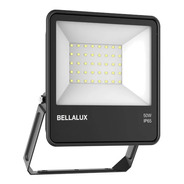 Proyector Reflector Led Bellalux 50w Luz Fría Exterior