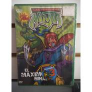 Las Tortugas Ninja El Maximo Ninja Volumen 3    Dvd