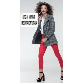 Abrigos Ultima Tendencia Cuadros 10520 Stop Leopardo Zara