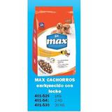 Alimento Para Perros Cachorros Marca Max De 2 Kg