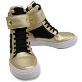 Bota Snearkers Feminino P/ Treino Couro 5 Cores Boa Forma