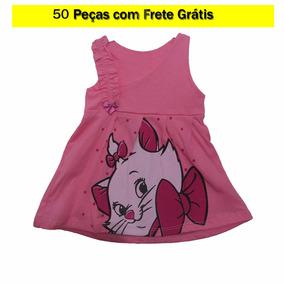 Infantis Lot. 50 Pçs - Rn. Bodys; Vestidos; Macacão; Pagão