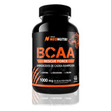 Bcaa 1000mg Rescue Force 100caps Aminoácido Nova Neo Nutri
