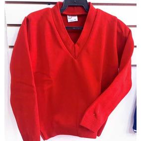 Suéter Escolar Cuello V Envío Gratis