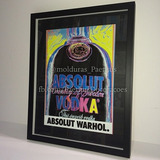 Quadro Moldura Gravura Decorativo Vodka Absolut