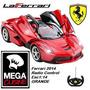Auto Laferrari Ferrari Radio Control Esc1:14 Grande C/pilas