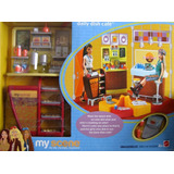 Barbie My Scene Daily Dish Cafe Set Muebles Cafeteria 2003