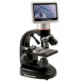 Microscopio Digital Celestron Pentaview 2400x 5mp Tv Out Sd