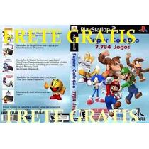 Super Colecão 7784 Jogos Snes + Mario Collection Para Ps2 Pc