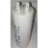 Capacitador- Condensador De Arranque De 50 Uf 250 V Ac
