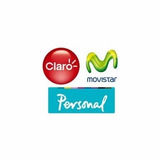 Chip Sim Card Movistar Personal Claro Prepago