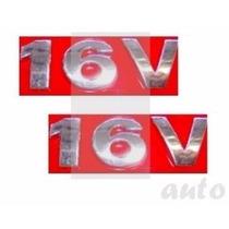 Emblemas Para-lama 16v - Gol G3 Geração 3 - Modelo Original