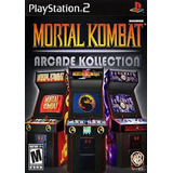 Mortal Kombat Arcade Collection Ps2 Sony Playstation 2