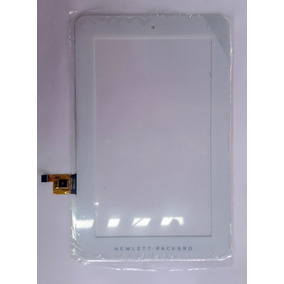 Tela Touch Tablet Hp 1201br 1201 7.1 Polegadas Branco