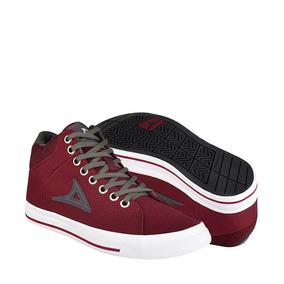 Zapatos Atleticos Y Urbanos Pirma 422 22-24 Lona Guinda