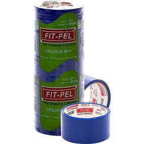 Fita Adesiva Fitpel - 48mm X 45mts - Colorida - A Melhor!!!