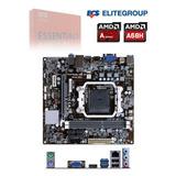 Motherboard Ecs A68f2p-m4 V1.0, Fm2+, A68, Ddr3, Sata 6.0, U