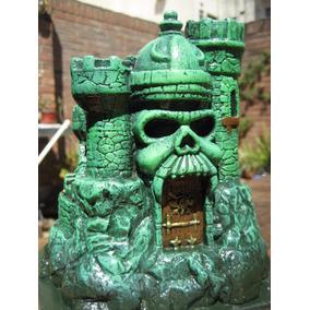 Miniatura Artesanal He-man Castillo Grayskull 16cm, Beastman