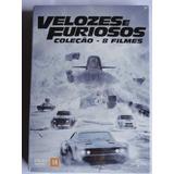 Dvd Box Velozes E Furiosos - Coleção 8 Filmes Novo Lacrado!!
