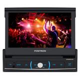 Dvd Positron Sp6520 Com Leitor Retratil Tela 7 Lcd