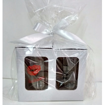Kit Padrinhos Casamento R$ 7,98 Kit Com 2 Canecas+caixinha