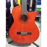 Guitarra Electroacustica Washburn C5ce Con Cuerdas De Nylon