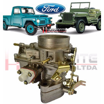 Carburador Jeep Pick Up F100 Rural Solex H40deis Alcool