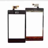 Tela Vidro Touch Screen Lg Optimus L5 Dual E615 E 615 Preto