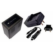 Kit Bateria Vw-vbg6 + Carreg P/ Panasonic Ag-hmc70 Hmc40 Ac7